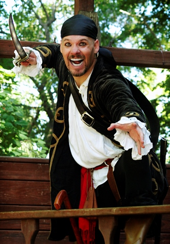 The Renaissance Festival opens today in Bonner Springs. The festival has a pirate theme this weekend. (Photo by Jillian Shoptaw/Renaissance Festival)