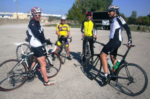 Three bike rides toured the Kansas City area on Saturday to benefit Free Wheels for Kids. (Photo by William Crum)