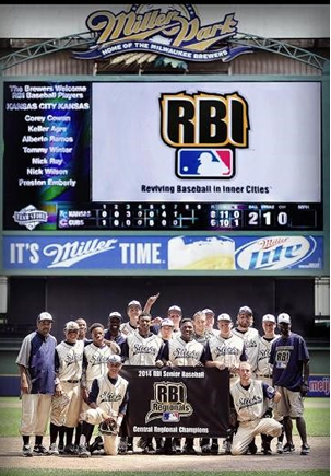 The Sticks, a team from Kansas City, Kan., went to the regional RBI competition. (Photo from KCK RBI)