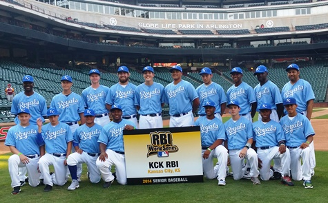 KCK RBI went to the RBI World Series in August in Arlington. (KCK RBI photo)