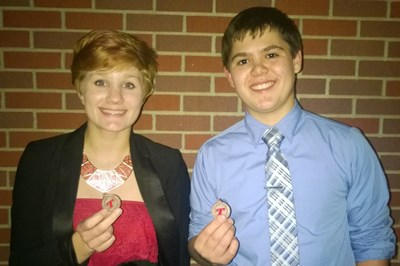 Zwart/Delaquila (4-1, 20) - 6th Place - Nick Delaquila qualified for State Competition. (Piper photo)