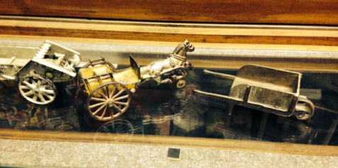 Several historic and one-of-a-kind items were stolen recently from the Ag Hall. Bonner Springs police are asking for the public's assistance in the case.