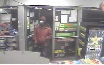 Police released this photo of a suspect in convenience store robberies. (Photo from police)