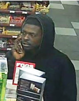 Police asked the public's help to identify a suspect in an aggravated robbery at a store at 68th and Kaw Drive. (Photo from Kansas City, Kan., Police Department)