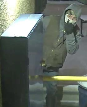 Police released this surveillance photo of a suspect in a burglary at a KCK business. (Photo from police)