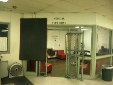 The Citizens Academy learned about the Wyandotte County Jail at its meeting Tuesday night. (Photo by William Crum)