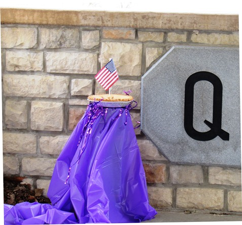 A late state historian once said the Quindaro Ruins were as American as apple pie and the American flag. (Staff photo by Mary Rupert)
