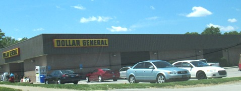 One Dollar General store is located near 81st and Parallel Parkway.