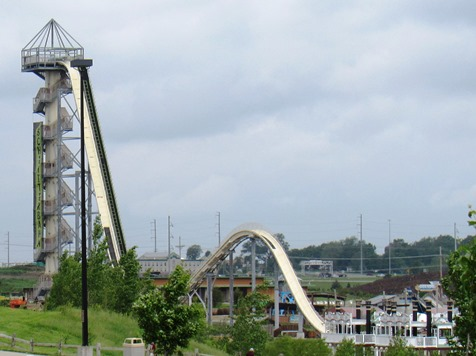 The Schlitterbahn Waterpark in Kansas City, Kan., with its world-famous Verrukt water slide, is scheduled to open for the season on Friday, May 22. For more details about the park, visit http://www.schlitterbahn.com. (File photo)