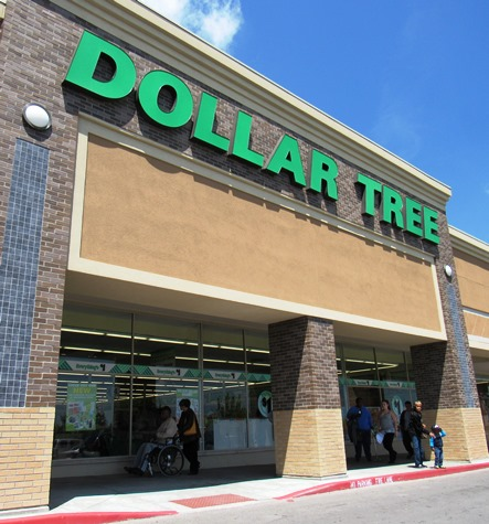 A Dollar Tree store is located in Wyandotte Plaza, a strip mall at 78th and State Avenue. It is in a newly renovated space.