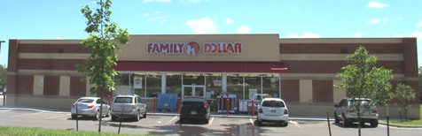 This Dollar General store is located near 63rd Drive and Parallel Parkway.