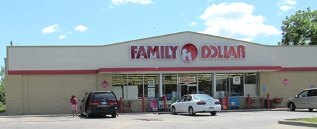 A Family Dollar store is near 12th and Central in Kansas City, Kan.