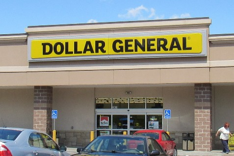 A Dollar General store is located within a strip mall at 2801 S. 47th, Kansas City, Kan.
