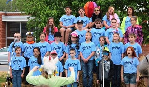 The ninth annual Marble Day parade and festival was Saturday, May 2, in Bonner Springs. (Photo by Steve Rupert))