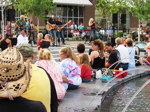 The Live at the Legends concert series kicked off Saturday night with the Big Time Grain Company. (Staff photo)