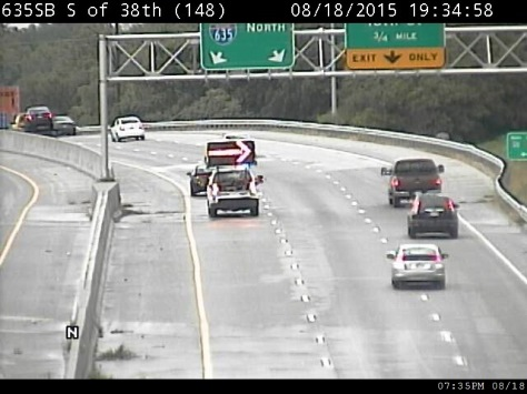Accident reported on I-635 near K-5 exit – Welcome to