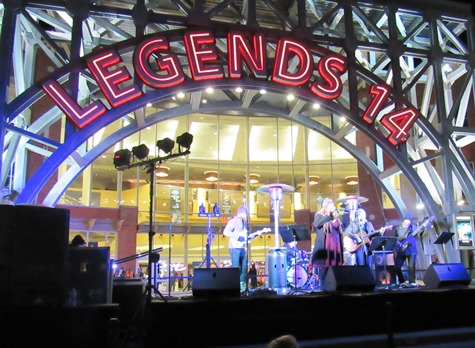 Scenes from The Legends Outlets' Legendary Lighting Ceremony Saturday night in Kansas City, Kan. (Staff photo)
