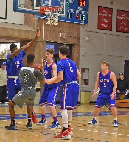 KCKCC men fall to Fort Scott late; home Wednesday, Saturday