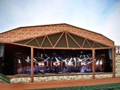 An artist's rendition showed changes that may be planned for the stage of the Providence Medical Center Amphitheater in Bonner Springs, Kan. (Artist's rendition)