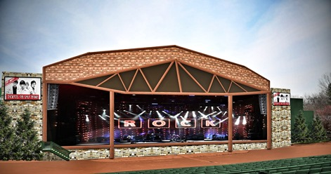 Outdoor theater changes name to Providence Medical Center Amphitheater