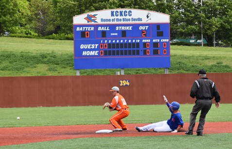 Split with No. 1 Neosho drops KCKCC into 3-way tie for second