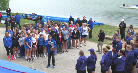 Scenes from the Sunflower Showdown Saturday at Wyandotte County Lake. (Staff photos by Mary Rupert)