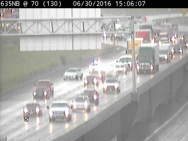 Collision reported near I-635 and I-70