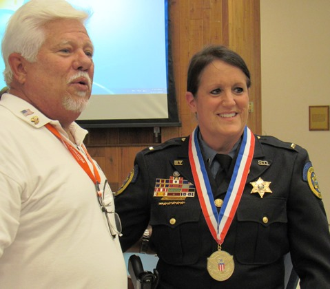 National awards honor sheriff, lieutenant for volunteer work