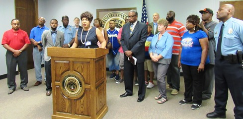 """""""This has got to stop,"""" Commissioner Gayle Townsend said. """"There is no reason whatsoever for these killings to continue."""""""