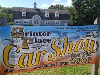 The Grinter Place car show will be held Saturday at the historic site at 78th and K-32. A sign is in front of the Grinter barn. (Submitted photo)