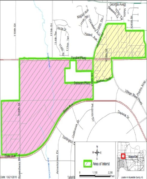 A map of the proposed STAR bond district for the American Royal can be found in the Unified Government's agenda for Oct. 27, online at www.wycokck.org. On Thursday, the UG Commission will consider a resolution for a public hearing Dec. 15 to consider creating a new STAR bond district.