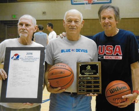 Shaw is national senior free throw champion