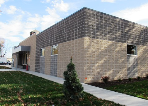 The new Cross-Lines building is at Shawnee Avenue and South Coy in Kansas City, Kan. (Staff photo by Mary Rupert)