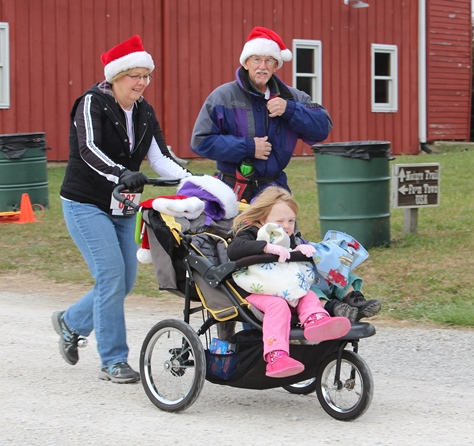 More scenes from Santa Express 5K and Reindeer Route, as well as visits to Santa Claus, and other holiday activities on Saturday at the National Agricultural Center and Hall of Fame, Bonner Springs. The run was on Saturday. More visits with Santa Claus are scheduled from 10 a.m. to 2 p.m. Sunday, Dec. 4, Saturday, Dec. 10, and Sunday, Dec. 11, at the Ag Hall, 126th and State Avenue, Bonner Springs. For more information, visit http://www.aghalloffame.com. (Photo by Steve Rupert)