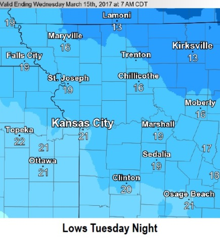 Freeze warning to last through Thursday in Louisville area