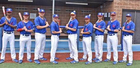 KCKCC Will Send A Lineup Of All .300 Hitters Against Garden City In First  Round Playoff Action Friday. The Blue Devil Starters, From Left, Albert  Woodard ...