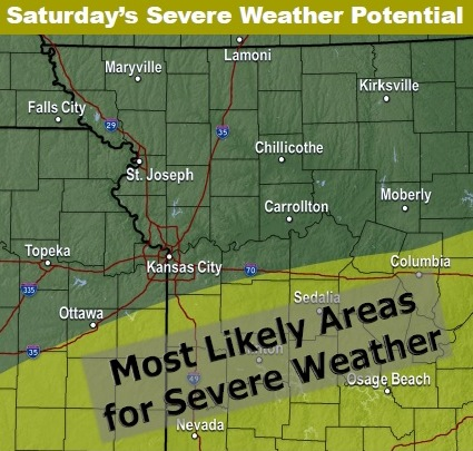 Strong Storms Possible Tonight