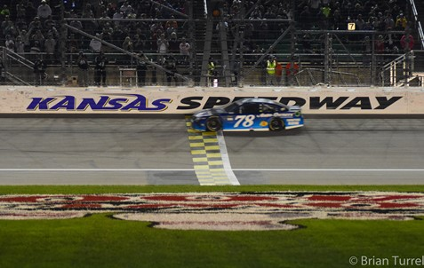Ryan Blaney's season back on track with fourth-place finish at Kansas