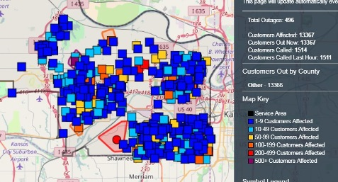 More than 13,000 BPU customers reported without power – Welcome to