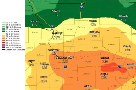 Cooler, wet weather expected to continue into next week