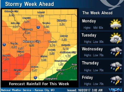 Forecast: More rain is likely through Saturday around noon