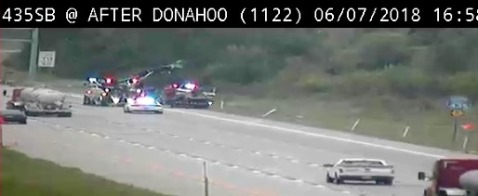 Accident Reported On Northbound I 435 Ramp Near Donahoo