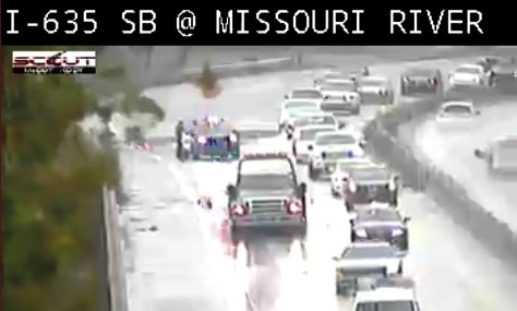 Accidents reported on I-635 near Missouri River – Welcome to
