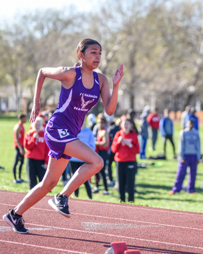 Local Schools Compete In Track Action At West Invitational