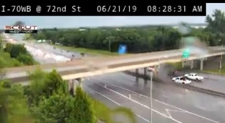 Accident reported on I-70 near Turner Diagonal – Welcome to