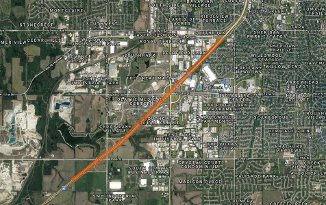I-35 bridge lengthening project to begin today – Welcome to ... on mndot road construction map, indot road construction map, kansas city road construction map, wisdot road construction map, modot road map, penndot road construction map, odot road construction map,