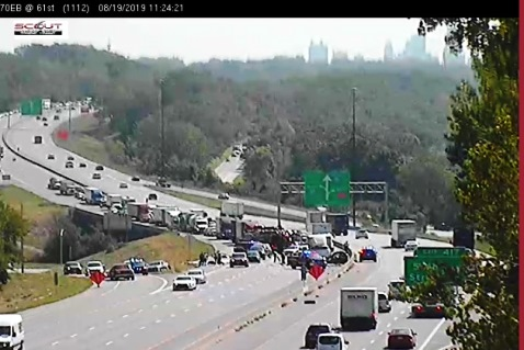 Accident reported at I-70 and 57th – Welcome to Wyandotte Daily!