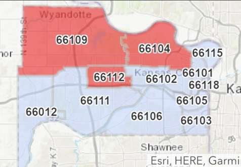 zip code map kansas city ks Number Of Covid 19 Cases In Kansas Increases To 168 Welcome To zip code map kansas city ks